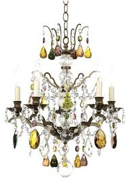 multi colored chandelier multi colored chandelier lighting and best chandeliers for closets images on crystal with