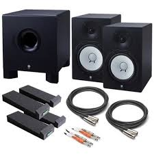 yamaha hs80m. yamaha hs80m (pair) monitor studio bundle w/ subwoofer, mopads, cables by yamaha, http://www.amazon.com/dp/b007ov5i64/ref\u003dcm_sw_r_pi_dp_an.dqb0z7gq\u2026 hs80m