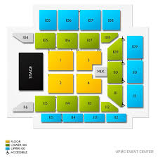 Upmc Events Center 2019 Seating Chart