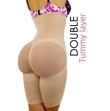 Heavenly Shapewear Size Chart Non Slip Double Tummy Layer Happy Butt No7 Shaper Fajas