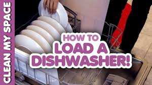 How Do I Clean My Dishwasher How To Load A Dishwasher Clean My Space Youtube