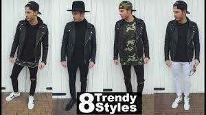 mens fashion 2019 street style how to style a leather jacket lookbook spring