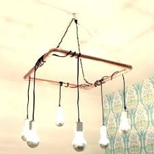 how to wire a diy chandelier rectangular farmhouse pendant lamp diy wire basket chandelier