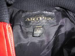 vintage chicago bulls artpel leather jacket michael jordan era w game ticket 1781487941