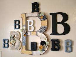 b is for s epiphany crafts monogram wall big letters and