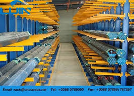 warehouse industrial storage rack system both aluminum pipe side optional color