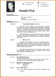 13 Best Resume Format Doc Saint Connect
