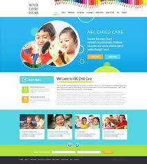 Free Childcare Advertising Free Daycare Website Templates Daycare Website Templates Childcare