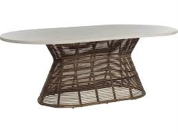 d oval round dining table