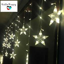 3m led lights outdoor window curtain lighting indoor fairy lights wedding decoration garland 220v eu