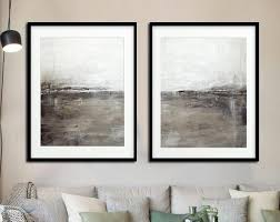 abstract art print set of four digital