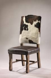 dining chairs bar stools. cowhide and leather dining chair | rustic chic furniture decor from rusticartistry.com chairs bar stools