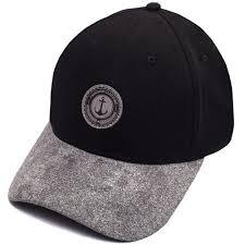"""<b>Бейсболка</b> """"<b>Anker</b> Black/Grey"""" бренда <b>TrueSpin</b> – купить по цене ..."""