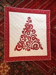Swirled Christmas Tree Quilt Pattern | Craftsy & Swirl Christmas Tree Wall-hanging Adamdwight.com