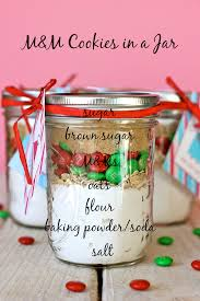 m m cookies in a jar these easy budget friendly jars make for the