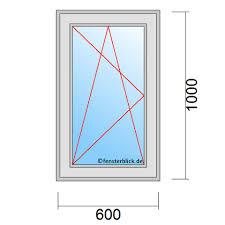 Fenster 60x100 Cm Günstig Online Kaufen Fensterblickde