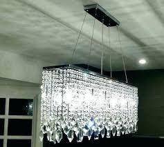 large rectangular chandelier modern large rectangular curtain wave crystal chandelier lighting large rectangular pendant chandelier
