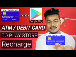 How To Recharge Play Store With Atm/Debit Card | atm/debit card se play  store recharge kaise kare - YouTube