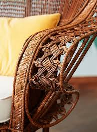 Rattan is one of the strongest fibers used for wickerbut it's also highly  flexible