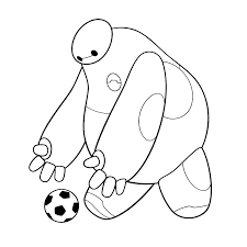 Big Hero 6 Coloring Pages Books 100 Free And Printable