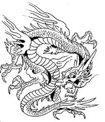 Evil Dragon Coloring Pages At Getdrawingscom Free For Personal