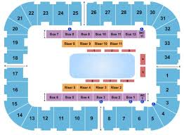 Roanoke Civic Center Seating Chart Wwe Berglund Center Coliseum Tickets In Roanoke Virginia