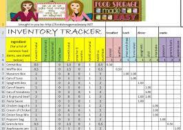 Download Inventory Spreadsheet Food Storage Inventory Spreadsheets You Can Download For Free