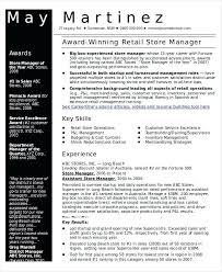 Department Store Manager Resumes Retail Manager Resume 5 3 Store 2017 Samples Doc Oliviajane Co