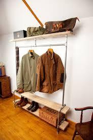Industrial Style Coat Rack Magnificent Coat Racks Interesting Industrial Style Coat Rack Portable Coat