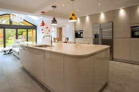 Beige Kitchen handleless kitchen beige j doors panorama kitchens liverpool 6929 by guidejewelry.us