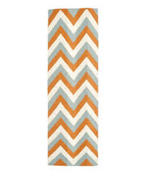 area rugs lily hand woven blue orange area rug