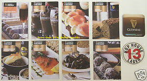 Where To Buy Recipe Cards In Stores Details About Guinness Store House Guinness Inspired Recipe Cards And Beer Mats Collectibles