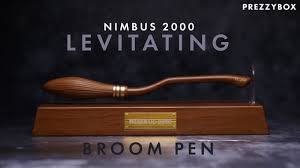 Nimbus 2000 <b>levitating</b> pen - YouTube