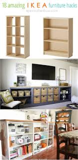 hack ikea furniture. Make Gorgeous Custom Furniture Easily With 18 Super Creative IKEA Hacks: Dressers, Cabinets, Benches, Tables, Kitchen Island, And More! - A Piece Of Rainbow Hack Ikea L