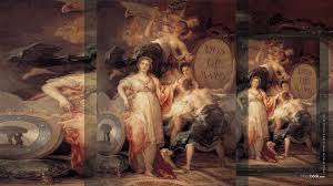 allegory of the city of madrid 1810 francisco de goya