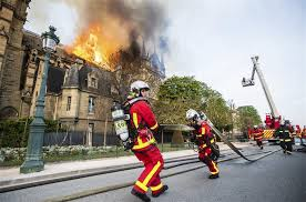 Firefighter reflects on battle to save Notre Dame cathedral ...