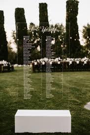 Acrylic Wedding Seating Chart Creating The Perfect Seating Chart Wedding 101 The Pink