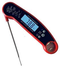 Meat Thermometer Temperature Chart Uk Aarush1 Waterproof Instant Read Digital Meat Thermometer