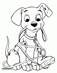 dalmatians coloring pages disney book cool 101 dalmatians coloring page