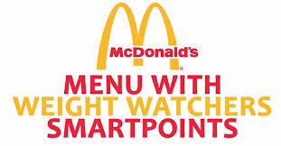 mcdonald s menu with weight watchers smartpoints 01recipes