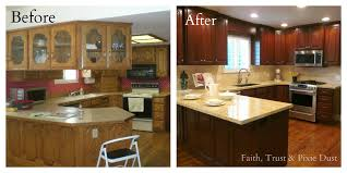 before and after kitchen remodel 1000 ideas about kitchen