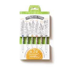 """<b>Растущие карандаши</b> """"Прованские травы"""", цветные, набор 6 шт ..."""