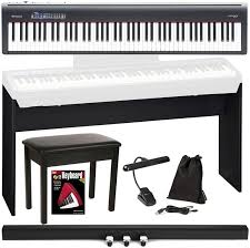 roland fp 30 deluxe keyboard bundle