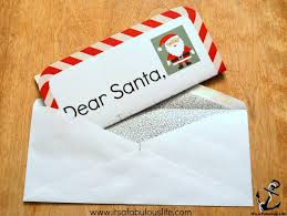 send a letter to santa to send letters to santa get a response its a fabulous life