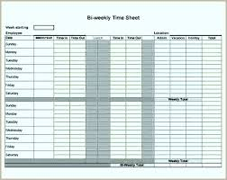 Bi Weekly Timesheet Calculator Lovely Biweekly Timesheet Calculator ...