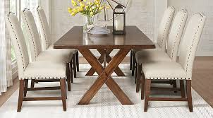 rectangle dining room table wonderful twin lakes brown 5 pc 72 in interior design 2