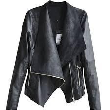 autumn winter fashion 2016 y women long sleeve coat soft pu leather coats casual zipper biker outerwear jacket plus size summer jackets shearling jacket
