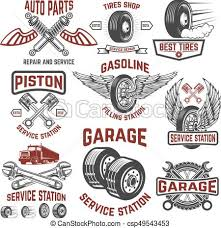 auto parts clip art. Modren Art Garage Service Station Tires Shop Auto Parts Store Design El   Csp49543453 Throughout Auto Parts Clip Art B