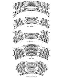Dolby Theatre Seating Chart Theater Seating Seating