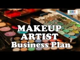 Sample Business Plan Outline Makeup Artist Business Plan Template With Example Sample
